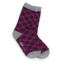 See Kai Run Lovely Lattice Purple Socks
