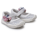 Morgan & Milo Infant Sparkle MJ Silver