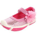 Morgan & Milo Infant Sparkle Mary Jane Pinky