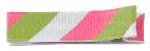 Clipettes Prints - Stripes Lime (2 clips)