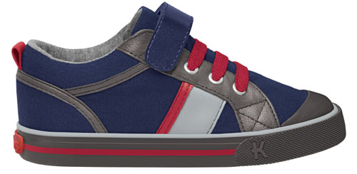 Kai by See Kai Run Sneakers Noel Navy Red
