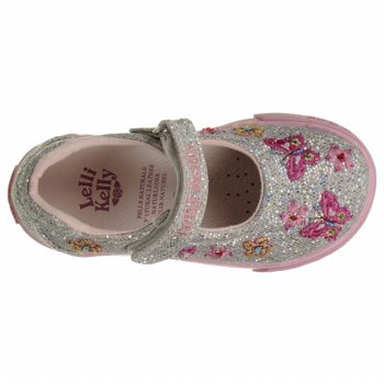 Lelli Kelly Baby Glitter Kate Dolly Silver