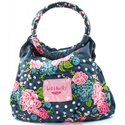 Lelli Kelly 'Rose' Blue Handbag