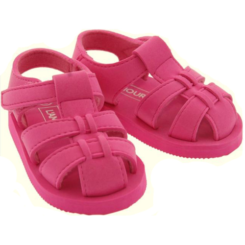L'Amour E128 Fuchsia Sandals