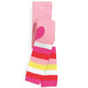See Kai Run Hearts & Stripes Tights Pink