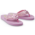Morgan and Milo Sparkle Flip Flop Pink